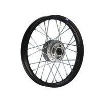 HMParts Pit Bike Dirt Bike Cross Alu Felge Eloxiert 14 Zoll  vorne schwarz