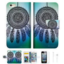 Dream Catcher Wallet  Case Cover For Apple iPhone 6 6S -- A026