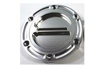 Silver KTM Triumph Aprilia Fuel Gas Cap 675 955I 990 Mille RSV Billet Aluminum