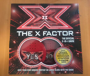The X Factor The Official 2-in-1 Sing Along Game
