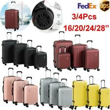 3/4Pcs Luggage Set 16