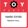 16400-33100 Toyota Radiator assy 1640033100, New Genuine OEM Part