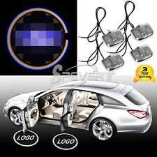4x Laser Logo LED Car Door Step Ghost Shadow Courtesy Projector Light For Ford
