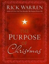 The Purpose of Christmas by Rick Warren Christian book FREE SHIPPING