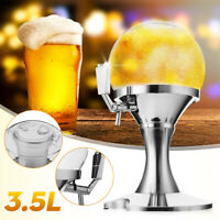 3.5L Ice Core Beer Beverage Dispenser Machine Container Pourer Bar Tool Pub New