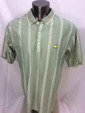 Masters Augusta National Golf Polo Shirt Cotton Size Xl