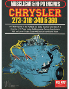 Chrysler 273 318 340 360 Engine Reports Dodge Plymouth