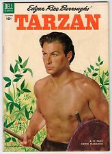 Dell EDGAR RICE BURROUGHS' TARZAN #50 Nov 1953 Manning Art Vintage Comic