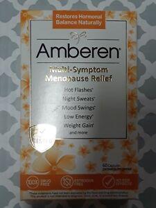 Amberen  60/400mg  Menopause Relief Capsules exp 10/24 #088