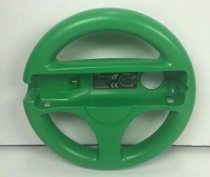 Nintendo Wii U Hori Mario Kart 8 Steering Wheel Luigi Green Racing Official