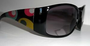 ROCCO MultiColor Geometric Pattern SUNGLASSES +2.5 or +3.0 BiFocal READERS ~NEW
