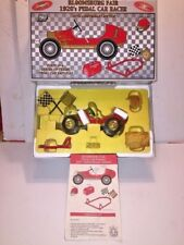 BLOOMSBURG FAIR 1920'S PEDAL CAR RACER BANK,DIECAST 1/6 SCALE W/SOUND BY CROWN