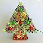 Vtg 1960s Redneck Christmas Tree Shotgun Shells Mercury Glass Double Star Lights