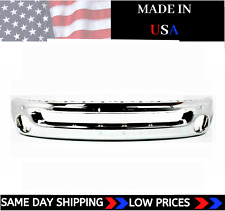 New Usa Made Chrome Front Bumper For 2002 2008 Ram 1500 2003 2009 Ram 2500 3500 Fits 2005 Dodge Ram 1500