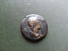 ROMAN.  HADRIAN.. 117-138AD. BRONZE AS.  BRASS ISSUE.  RARE.  NICE CONDITION.