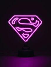 SUPERGIRL MINI NEON SIGN US VERSION (FACTORY SEALED, BRAND NEW) DC COMICS, RARE