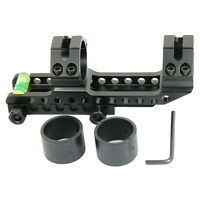"PEPR Cantilever 1"" to 30mm Rifle Scope Mount Picatinny Rails w/ Bubble Level ***"
