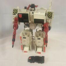 Transformers G1 vintage Metroplex Autobot City 1986 incomplete