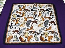 Cats Motif Scarf for Women - Great Gift for a Cat Lover