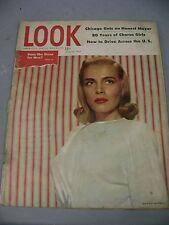 LOOK MAGAZINE JULY 22 1947 HONEST MAYOR CHORUS GIRLS ACROSS THE US WOMAN COVER