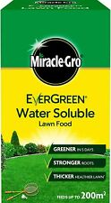 Miracle Gro EverGreen Water Soluble Grass Lawn Feed Food 1kg Healthy 1kg 200m2