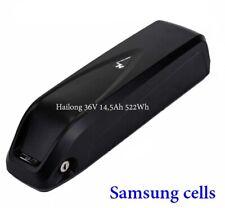 EBike Akku Battery Hailong 36V 14,5AH 522WH Samsung Zellen Umbau ohne Ladegerät