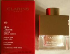 Authentic  CLARINS Skin Illusion Loose Powder Foundation, #110 Honey.