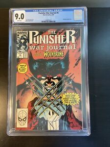 Punisher War Journal #6 CGC 9.0 Jim Lee (1989) Marvel Comics Wolverine