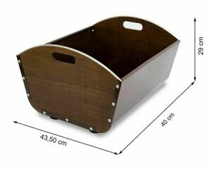 Portalegna in metallo Barella per legna da ardere Mensola per legna da...
