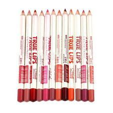 Pro Waterproof 12pcs Lip Liner Pen Pencil Long Lasting Lipliner Makeup Tools
