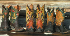 36x24 ART PRINT If Only They Could Talk by David Stoecklein Cowboy Boot Poster