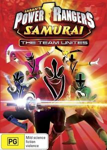 Power Rangers Samurai - The Team Unites (DVD) Australia Region 4