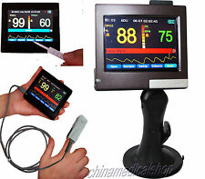 """3.5""""Touch Screen Handheld Pulse Oximeter SPO2 Heart Rate Monitor,CE passed"""