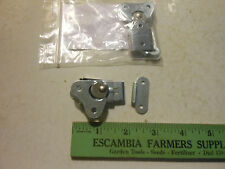 LOT OF 2 SOUTHCO ROTARY DRAW LATCHES 1406A42, ZINC PLATED STEEL