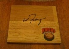 Siu Salukis Walt Frazier Hand Signed New York Knicks Logo Floor Tile W/Coa