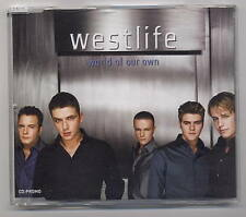 WESTLIFE Rare Cd Single WORLD OF OUR OWN 1 track  2001