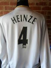 HEINZE # 4 Manchester United 2006-2007 AWAY FOOTBALL SHIRT XXL (31420) LS
