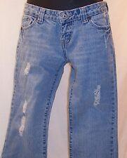 Wet Seal Distressed Blue Jeans Cotton Womens Juniors Sz 5 Short 29 X 29 Free S!