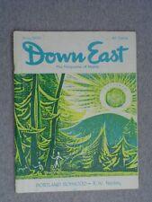 DOWN EAST Maine mag. May 1959 Senator ED MUSKIE  Augusta's Blaine House