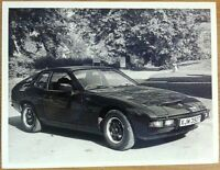 PORSCHE 924 PRESS PHOTOGRAPH CIRCA 1979 BLACK & WHITE