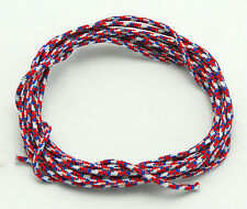 3' BCY Red/White/Blue D Loop Material Archery Bowstring Rope Drop Away Cord