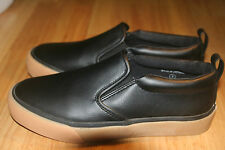 ASOS Women's Black Leather Loafers Size UK3
