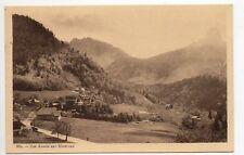 SUISSE SWITZERLAND canton de VAUD Les AVANTS sur MONTREUX vue generale