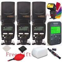 3* YONGNUO  YN685 N i-TTL Flash Speedlite + YN622N-TX Flash controller for Nikon