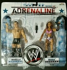 WWE Adrenaline Santino & Maria Series 32 Jakks Figure SIGNED BY MARIA KANELLIS