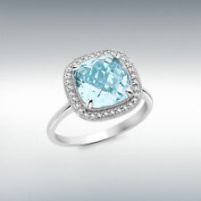 Cushion Engagement Excellent Cut SI1 Fine Diamond Rings