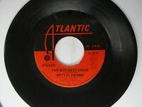 Bettye Swann Boy Next Door / Kiss My Love Goodbye 45 Atlantic 1974 Rare Soul
