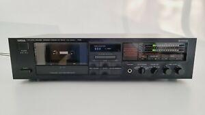 Yamaha KX-200U Stereo Cassette Deck Tape Player Natural Sound Black