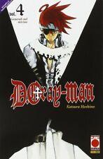 D. Gray-Man N° 4 - Ristampa - Planet Manga - ITALIANO NUOVO #NSF3
