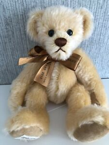 Deans Rag Book Mohair Jointed Teddy Bear 'Hubert' 2015 Membership Bear 9""
